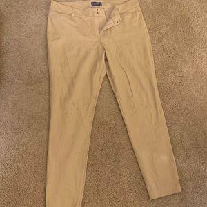 Old Navy Khaki Pixie Pants
